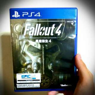 PS4 Fallout 4 (READ DESC)