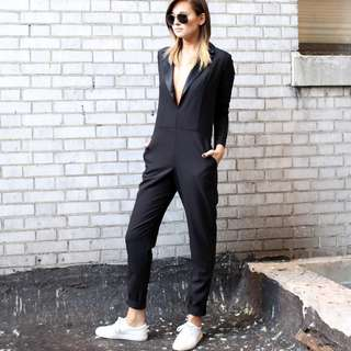 Black Jumpsuit from the weworewhat eluxe collab