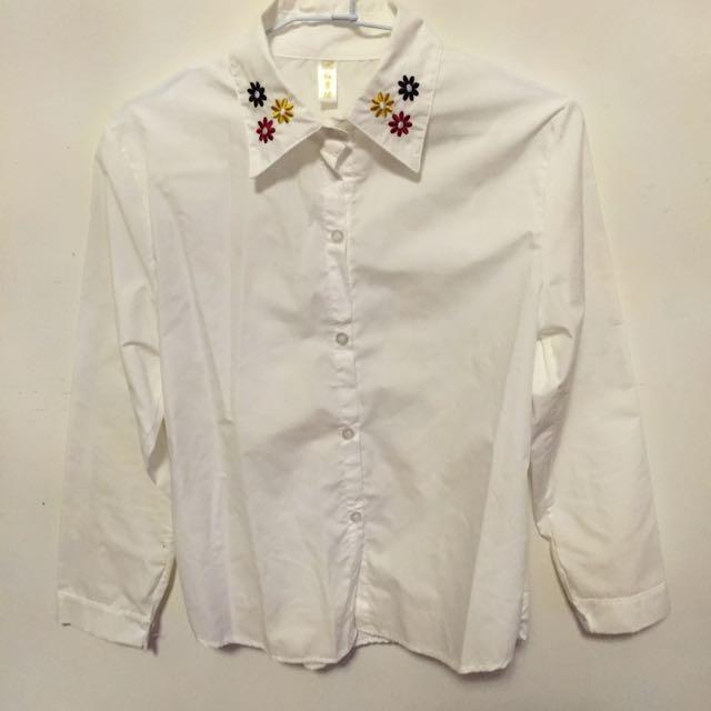 花花白襯衫
