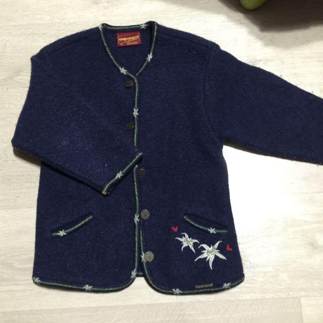 澳洲進口童裝 GEIGER 純羊毛外套 🐑