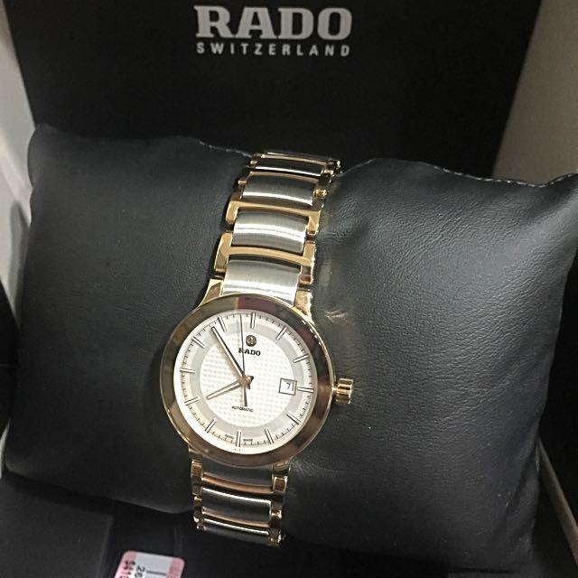 雷達 RADO Centrix 晶萃系列時尚女用機械錶