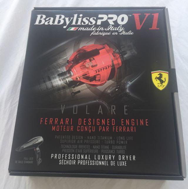 Babyliss Pro V1 Ferrari Edition Hairdryer