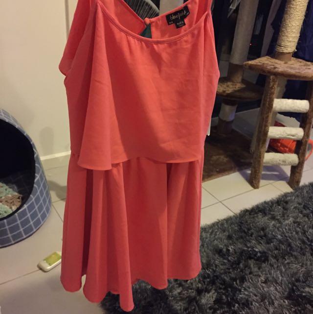 Blue juice Peach Dress