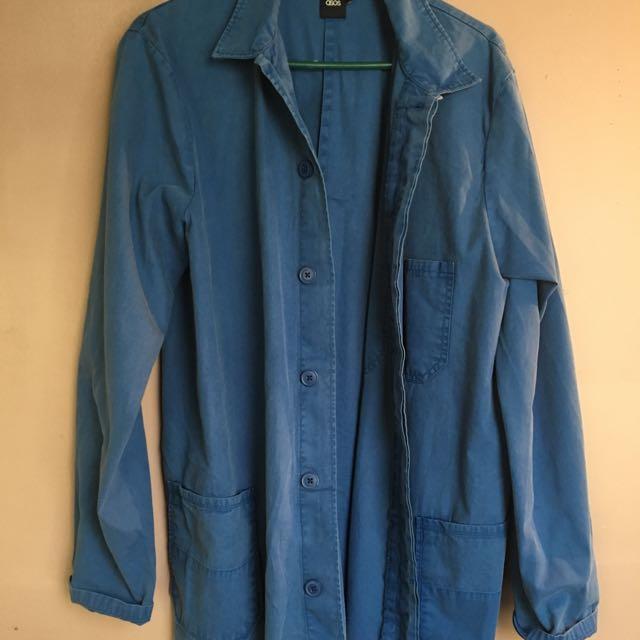 Blue Worker Shirt
