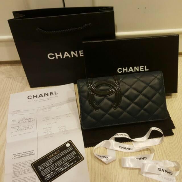 Chanel 真品長夾