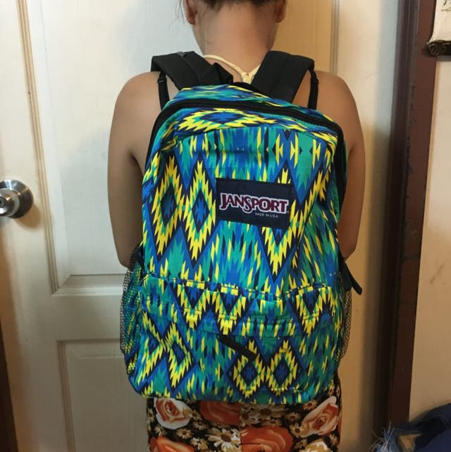 Class A Aztec Jansport Bag