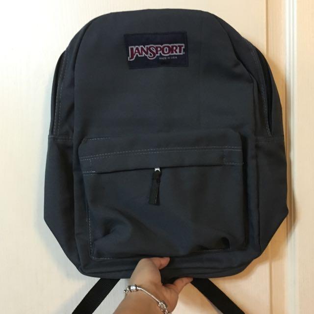 Class A Grey Jansport Bag