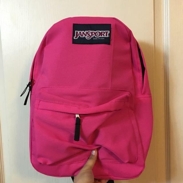 Class A Pink Jansport Bag