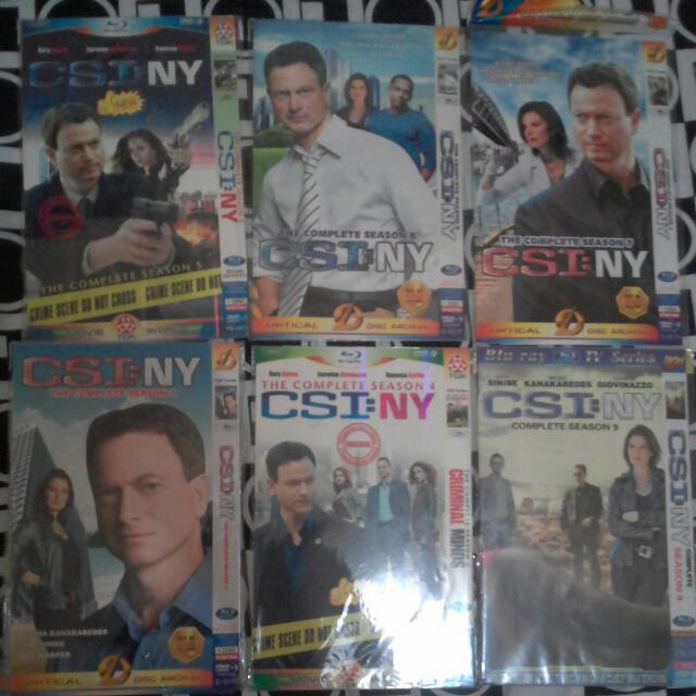 Now 150.00 Csi New York The Series                 《7 Seasons》