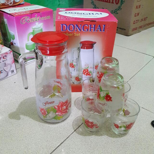 Donghai Pitcher 6 Glass