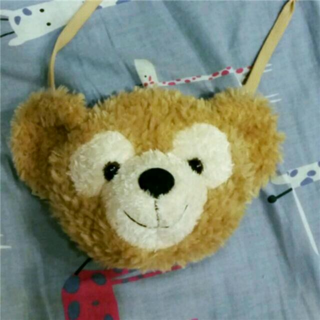 《急售》達菲熊duffy小包包