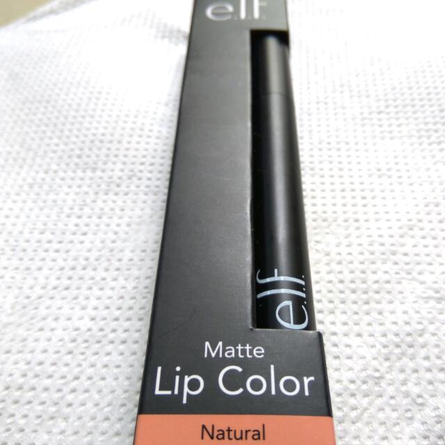 e.l.f Matte Lip Color - Natural