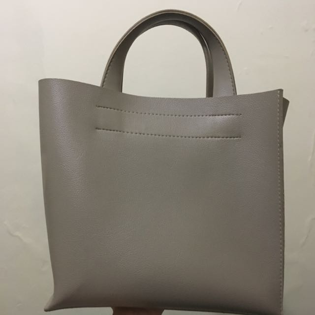 Eline Rose Ruby Tote - Gray