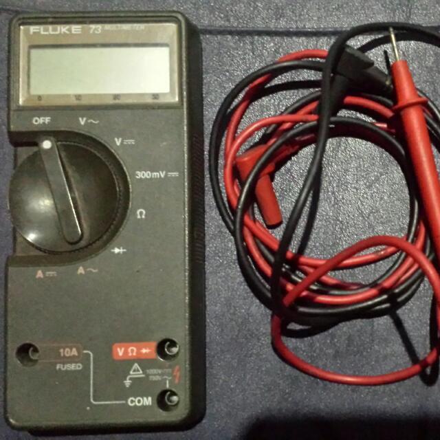 fluke 73 multimeter manual