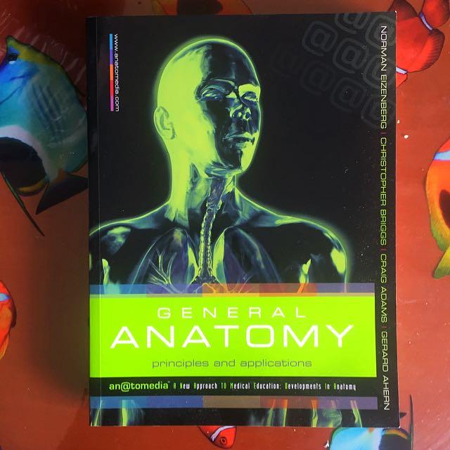 General Anatomy Textbook