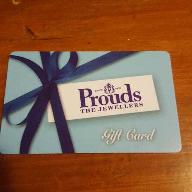 Gift Voucher, Value $635.00 left over From Insurance Claim