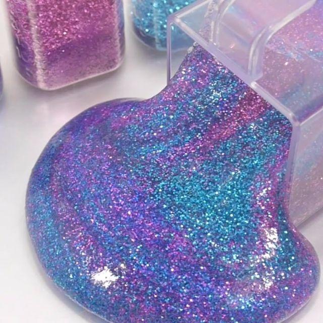 Glitter Galaxy Slime Design Amp Craft Handmade Craft On