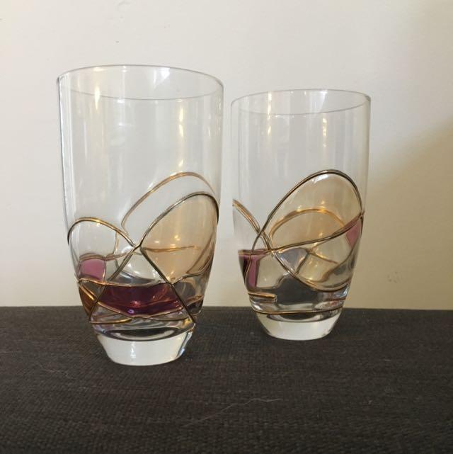 Gorgeous Glasses - Set Of 2