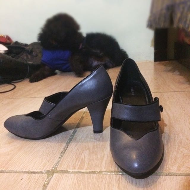 Gray Fioni Shoes