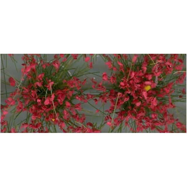 """[H0 1/87, N 1/150] Model Grass Tufts XL """"green+blossom"""", 104 pcs with 4 different types [Noch] NEW"""