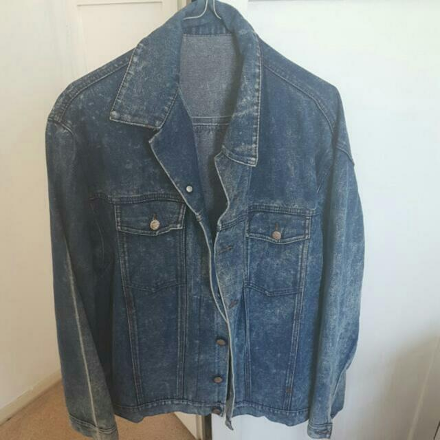 Handmade Patchwork Denim Jacket