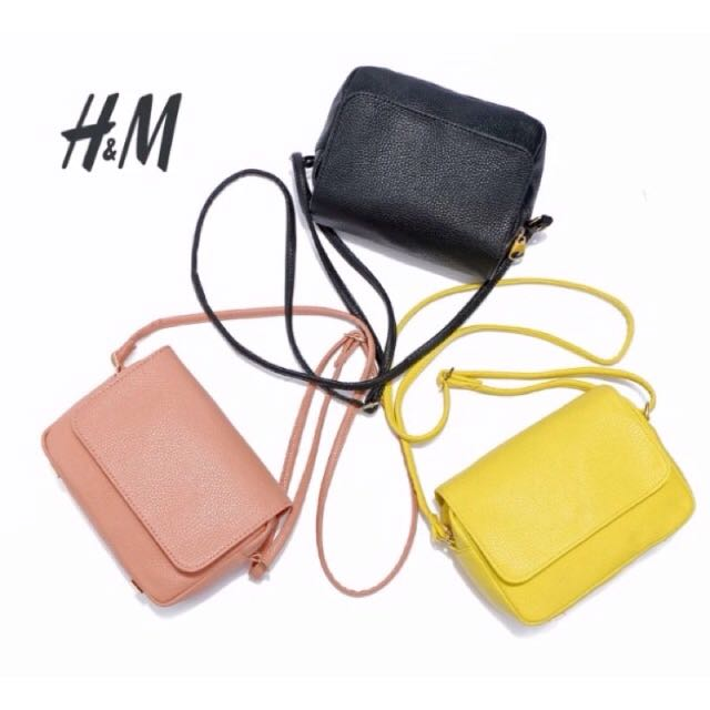 《現貨》H&M 側背包 黑色 HM