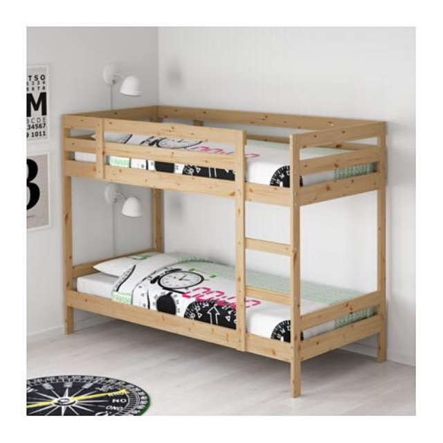 Ikea Mydal Bunk Bed Double Decker Loft Bed Katil 2 Tingkat Home Furniture Furniture On Carousell