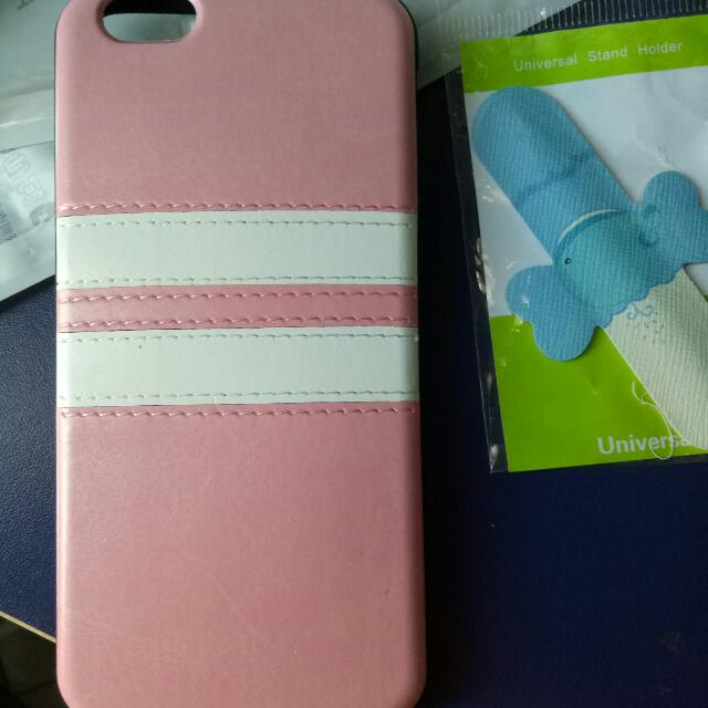 iphone6 soft silicon pu leather case