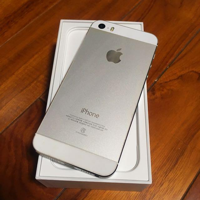 Iphone 5s銀色 16g