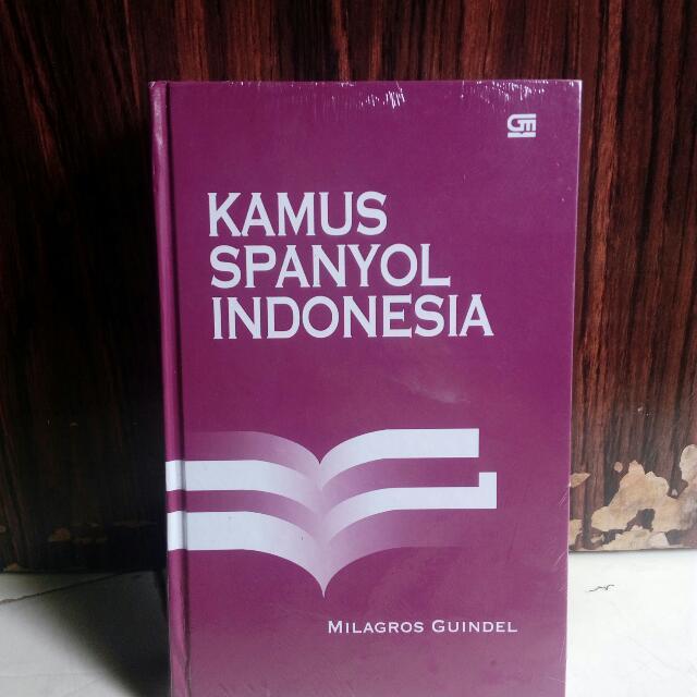 KAMUS SPANYOL INDONESIA (HC)