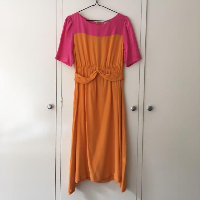 Kinki Gerlinki Pink & Orange Dress