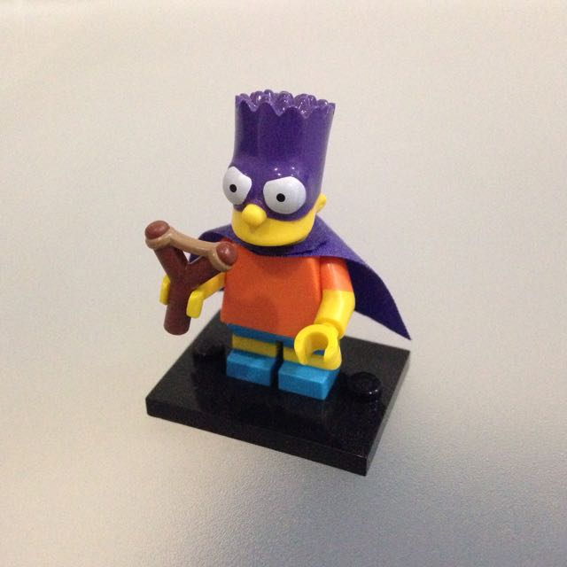 Lego The Simpsons (Bart Minifigure)