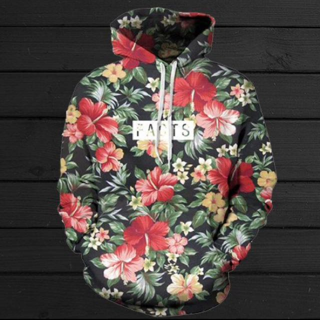 Looking For Floral Facts Hoodie Size M Or L