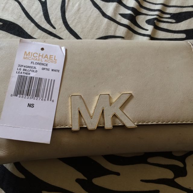 Michael Kros White Leather Original