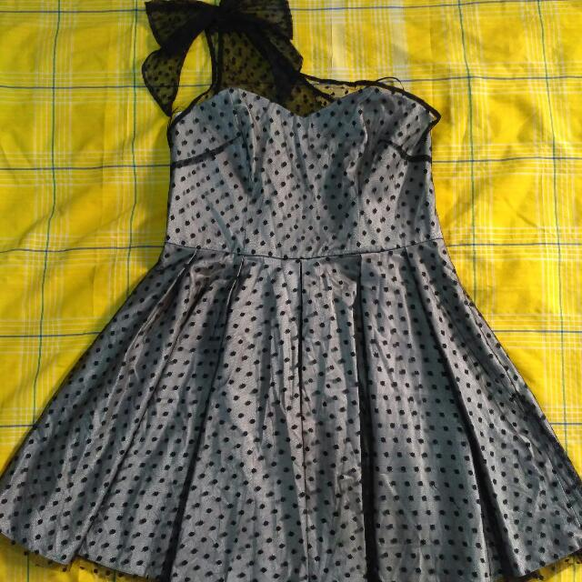 Reprice - Mini Dress Topshop Hitam