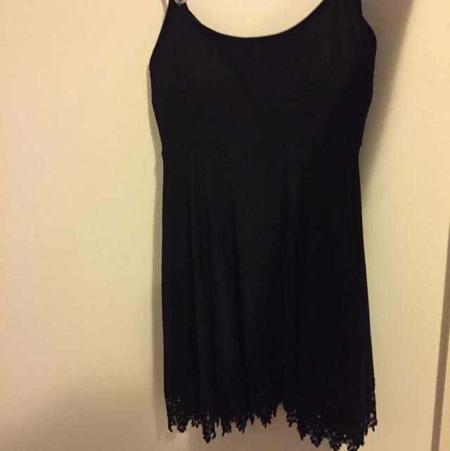 Mooloona Black Beach Dress