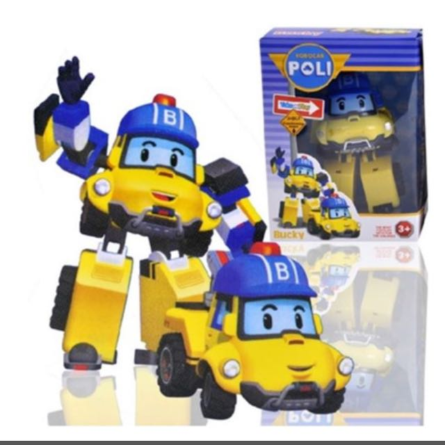 Mark & Bucky 11nov2016 ROBOCAR POLI ☆ Transformer toy Heli-Roy -Amber ☆ Korea
