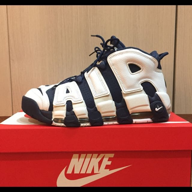 Nike air more uptempo olympic 二手正品 US9.5