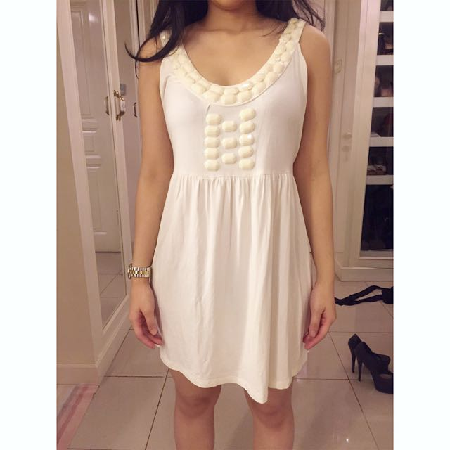 Off White Dress