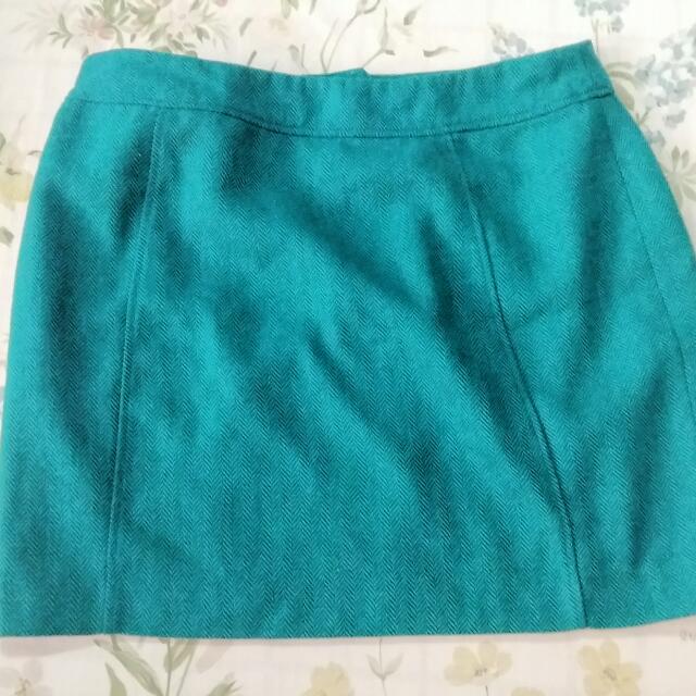 Pre-loved H&M Green Skirt