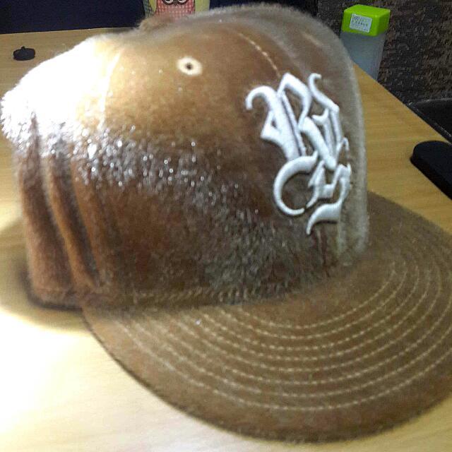 絕版R D S 絨毛 板帽