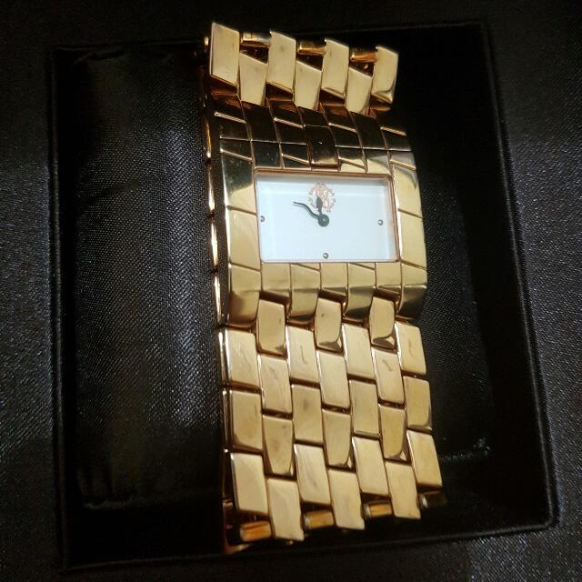 Roberto Cavali Woman Rosegold Watch