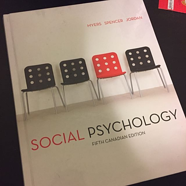 Social Psychology 5th Canadian Edition
