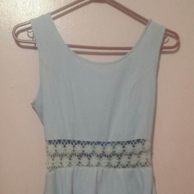 Something Borrowed Sexy Blue Dress