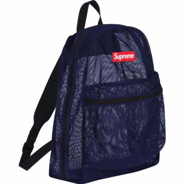 3d88d0a80e92 Supreme Mesh Backpack Navy (reserved)