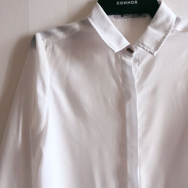 Temp White Blouse Size 8