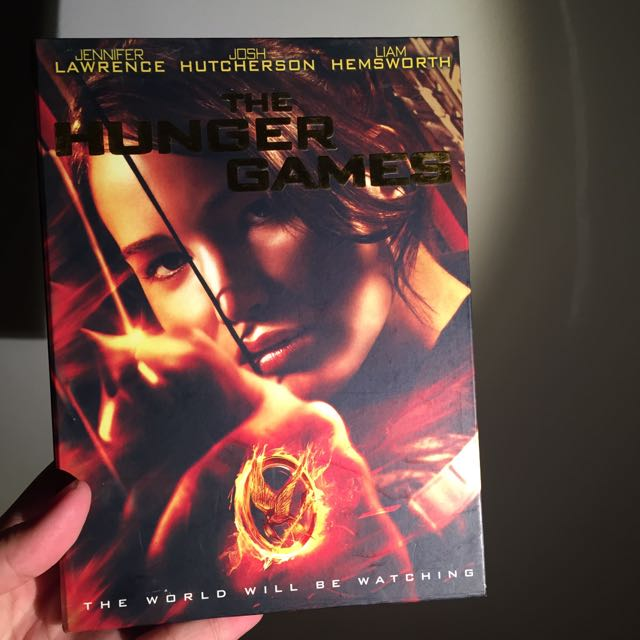 THE HUNGER GAMES DVD INDONESIA REGION
