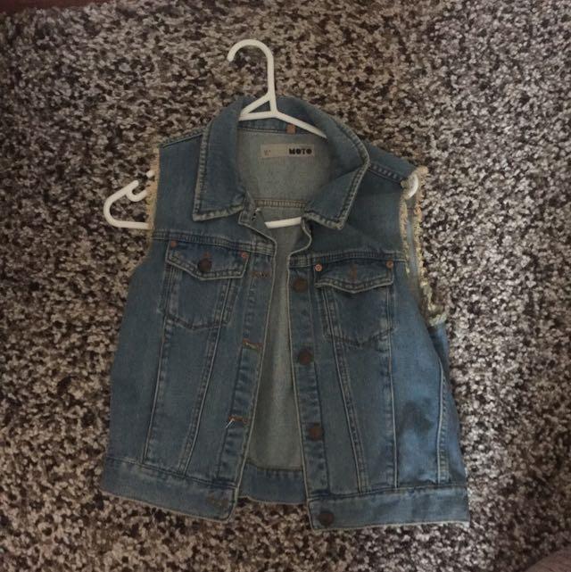 Top Shop Jean Vest