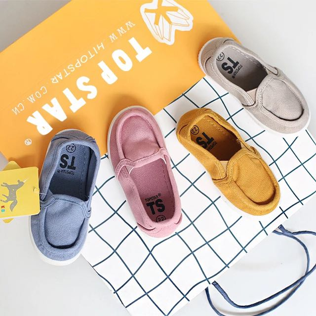 ❤️Top Star優質兒童帆布鞋❤️