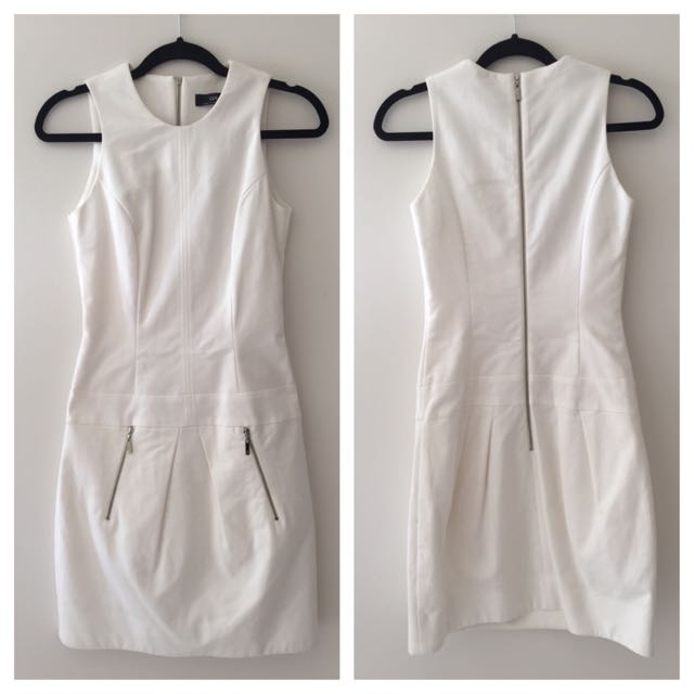 White Cue Dress